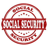 Sopcial security — Stock Vector