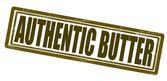 Authentieke boter — Stockvector