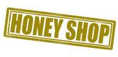 Honey shop — Stock Vector