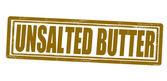 Unsalted butter — Vector de stock