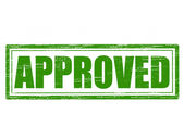 Approved — Stockvector