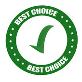 Best choice — Stockvektor