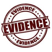 Evidence — Stock Vector
