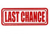 Last chance — Wektor stockowy