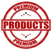 Premium product — Stock Vector