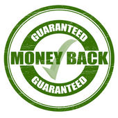 Money back — Vector de stock