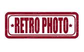Retro photo — ストックベクタ
