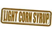Jarabe de maíz ligero — Vector de stock
