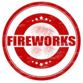 Fireworks — Vettoriale Stock