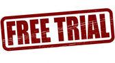 Free trial — Stockvector