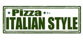 La pizza — Vector de stock