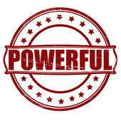 Powerful — Stock Vector