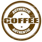 Authentic coffee — Stockvektor