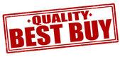 Quality best buy — Stock Vector