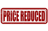 Price reduced — Stock Vector