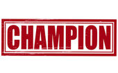 Şampiyon — Stok Vektör