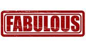 Fabulous — Vector de stock