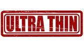 Ultra cienki — Wektor stockowy