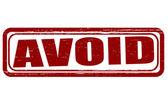 Avoid — Stock Vector