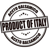 Product of Italy — Stock Vector