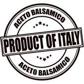 Produkt av italien — Stockvektor
