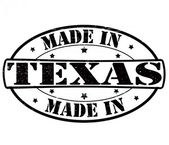 Made in Texas — Stockvektor