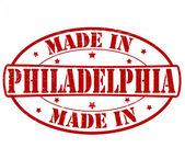Hecho en Filadelfia — Vector de stock