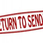 Постер, плакат: Return to sender