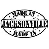 Made in Jacksonville — Stock Vector