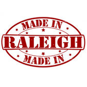 Made in Raleigh — Stock Vector