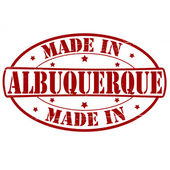 Made in Albuquerque — Stock Vector