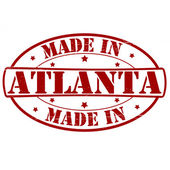 Made in Atlanta — Stock Vector