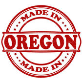 Made in Oregon — Stock Vector