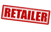 Retailer — Stock Vector
