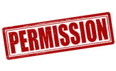 Permission — Stock Vector
