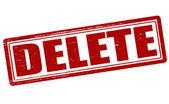 Delete — Stock Vector
