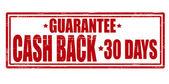 Cash back — Stock Vector