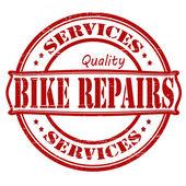 Bike repair — Stock Vector