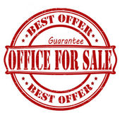 Office for sale — Stockvector