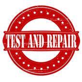Test and repair — Stock Vector