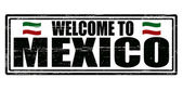 Welcome to Mexico — Stock Vector
