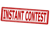 Instant contest — Stock Vector