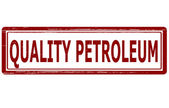 Quality petroleum — Stock Vector