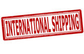 International shipping — Stock Vector