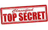 Classified top secret — Stock Vector