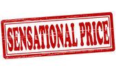 Sansasyonel fiyatı — Stok Vektör
