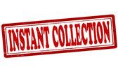 Anında koleksiyon — Stok Vektör