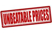 Unbeatable prices — Stock Vector