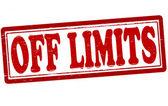 Off limits — Stock Vector