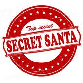 Secret Santa — Stock Vector
